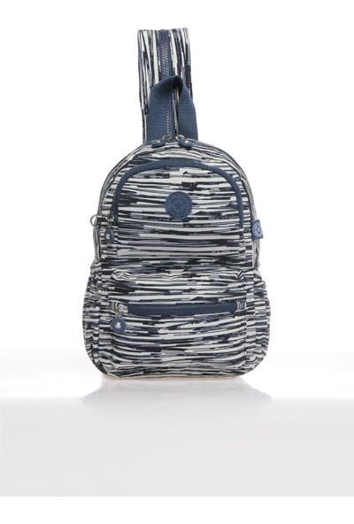Smart Bags SMB1030-0126 Bej/laci Kadın Küçük Sırt Çantası