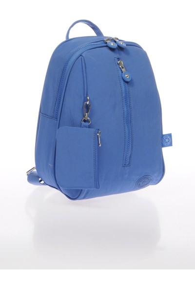 Smart Bags SMB1233-0031 Mavi Kadın Küçük Sırt Çantası
