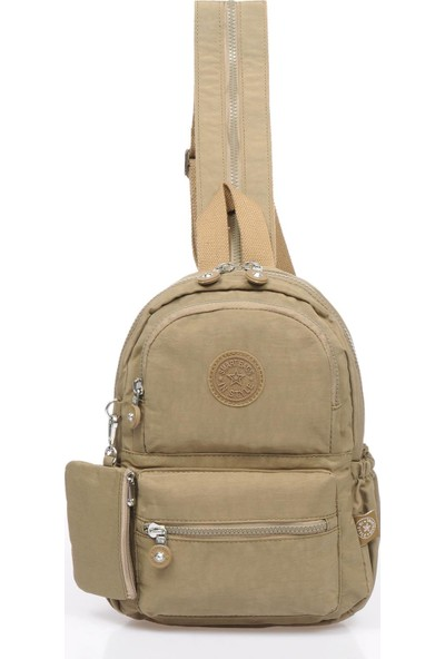 Smart Bags SMB1030-0007 A.kahverengi Kadın Küçük Sırt Çantası