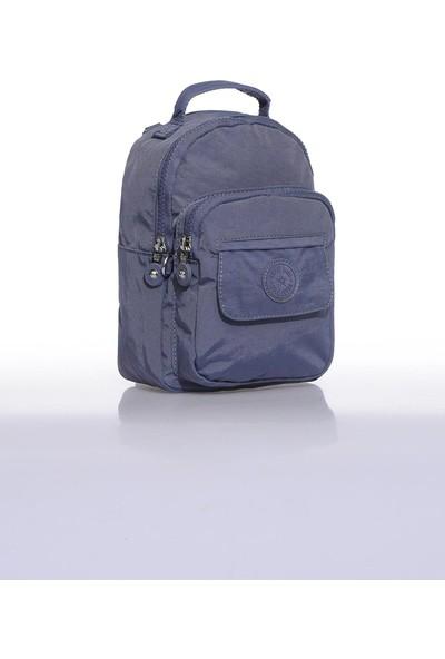 Smart Bags SMB3027-0089 Füme Kadın Minik Sırt Çantası