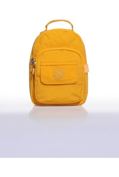 Smart Bags SMB3027-0086 Hardal Kadın Minik Sırt Çantası