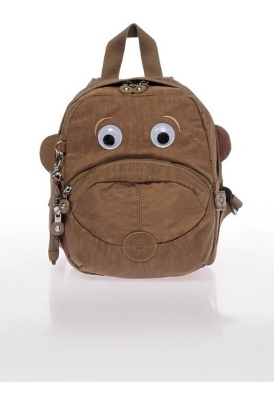 Smart Bags SMB1090-0007 A.kahverengi Kadın Küçük Sırt Çantası