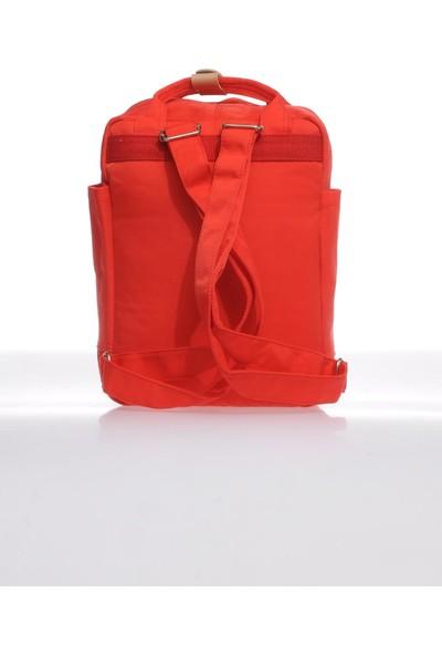 Smart Bags SMB6009-0019 Kırmızı Kadın Sırt Çantası