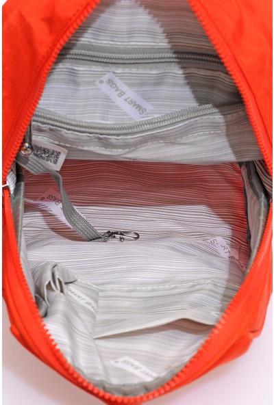 Smart Bags SMB1233-0026 Orange Kadın Küçük Sırt Çantası