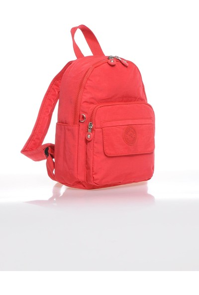 Smart Bags SMB3028-0019 Kırmızı Kadın Küçük Sırt Çantası