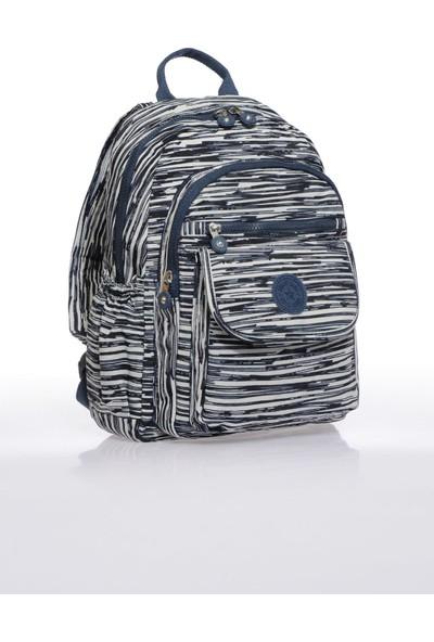 Smart Bags SMB1187-0126 Bej/laci Kadın Sırt Çantası