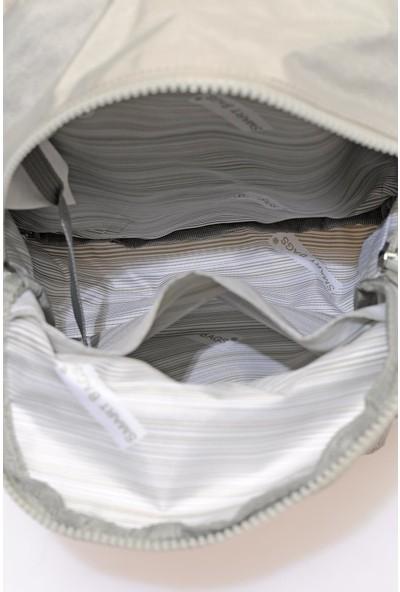 Smart Bags SMB3028-0083 Ice Gri Kadın Küçük Sırt Çantası