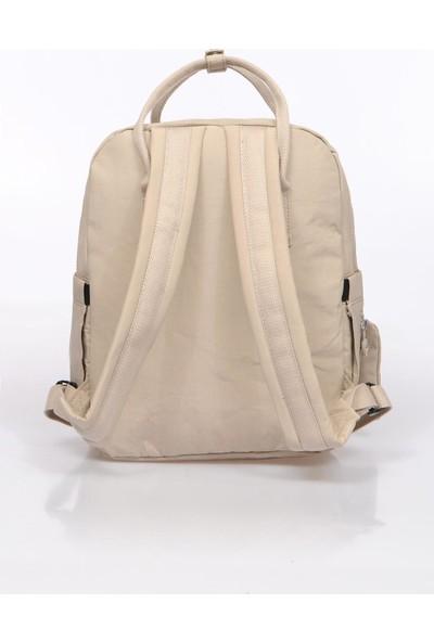 Smart Bags SMB1220-0003 Bej Kadın Sırt Çantası
