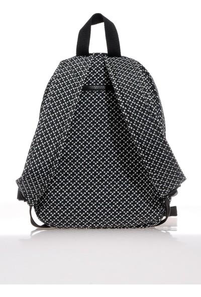 Smart Bags SMB1249-0127 Siyah/beyaz Kadın Sırt Çantası