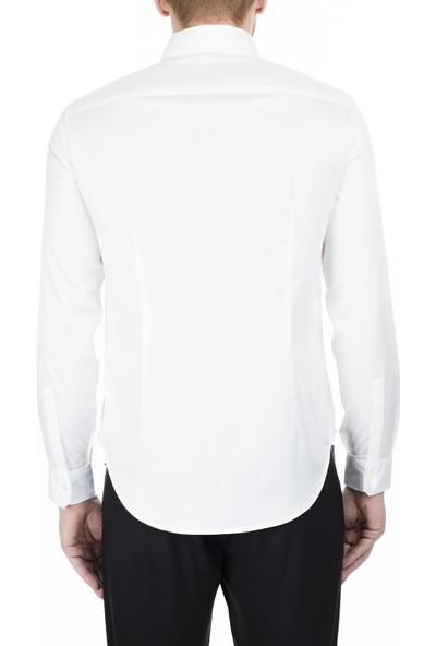 Emporio Armani Slim Fit Erkek Gömlek 3H1Cn5 1Njjz 0100