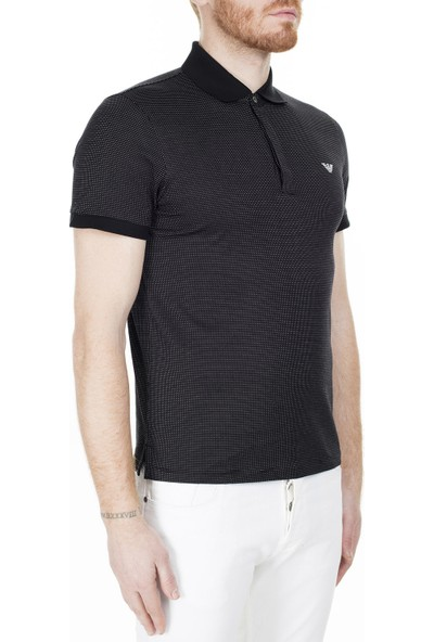 Emporio Armani Regular Fit Erkek Polo T-Shirt 3H1F64 1Jerz F011