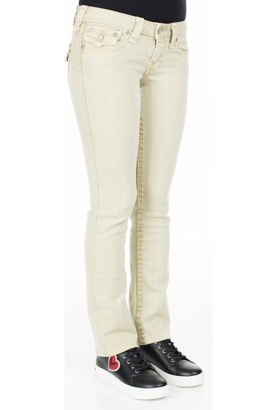 True Religion Jeans Kadın Kot Pantolon W95572N99