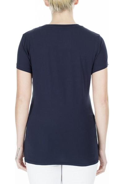 Armani Exchange Slim Fit Kadın T-Shirt 3Hytaf Yjc7Z 1593