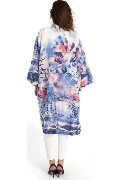 Bexy Dior - İpek görünümlü kimono M