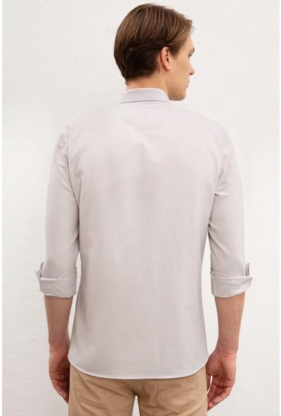 U.S. Polo Assn. Erkek Dokuma Gömlek 50218954-VR024