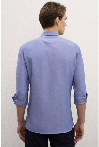 U.S. Polo Assn. Erkek Dokuma Gömlek 50218954-VR045