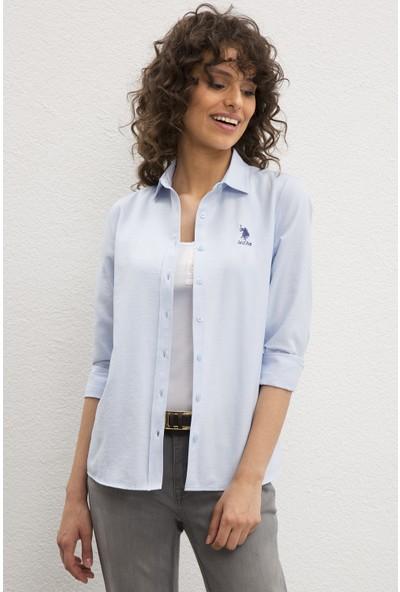 U.S. Polo Assn. Kadın Dokuma Gömlek 50219512-VR003