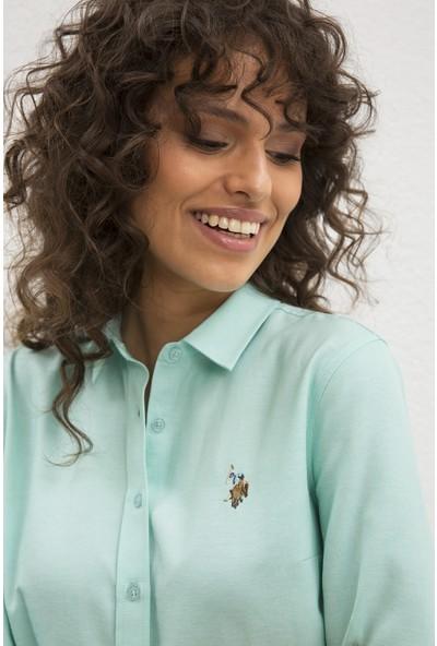 U.S. Polo Assn. Kadın Dokuma Gömlek 50219521-VR090