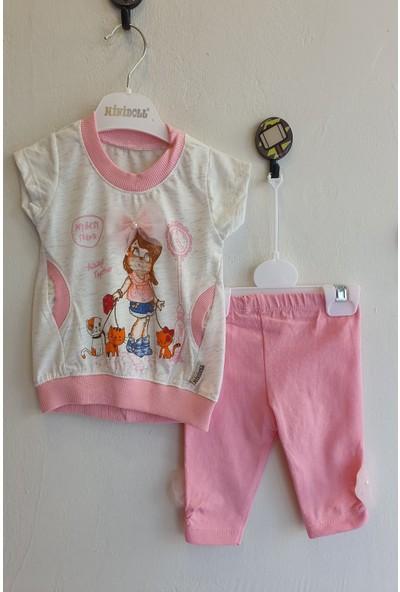 Minidoll Kız Bebek 6 - 18 Ay Tüllü Çantalı Kız İkili Takım
