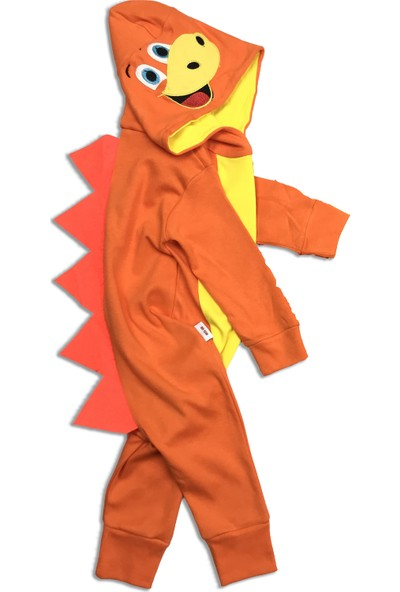 Bebesev Baby Dino Tulum Turuncu 6 Ay