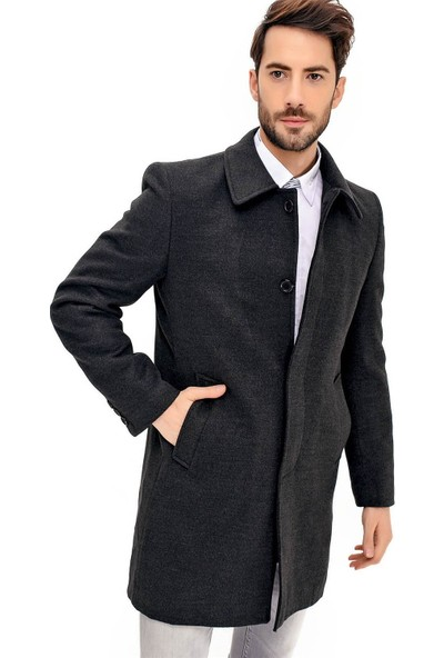 Dewberry Plt8365 Erkek Palto