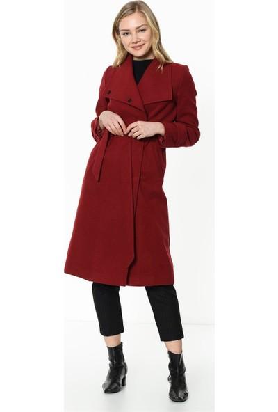 Dewberry Z6626 Kadın Palto