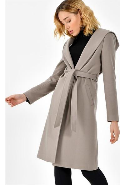 Dewberry Z6630 Kadın Palto