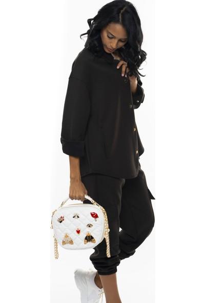 Matthew Cox Kadın Çapraz Çanta Beyaz CPZ6095