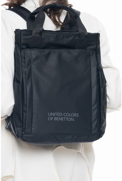 United Colors Of Benetton Sırt Çantası Siyah BNT255
