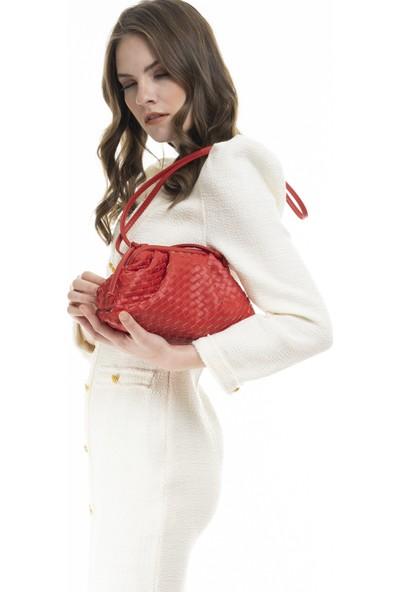 Matthew Cox Kadın Çapraz Çanta Kırmızı T737