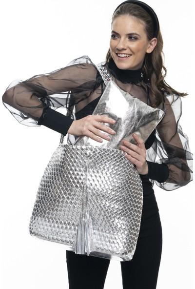 Matthew Cox Kadın Kol Çantası Gümüş BYN882