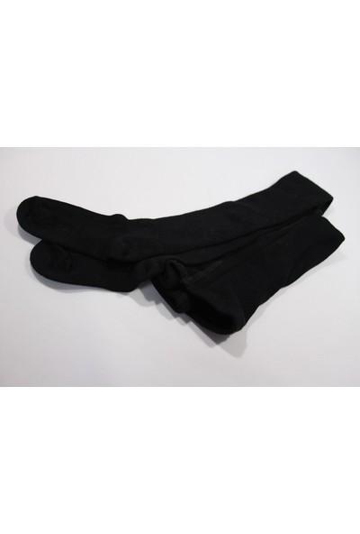 Bebeğime Çorap Bambu Külotlu Çorap - Siyah