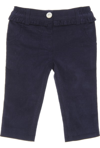 Panço Kız Bebek Kadife Pantolon 18221071100