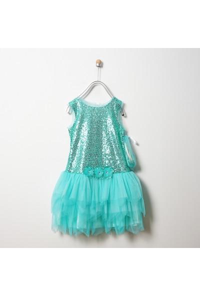 Panço Kız Çocuk Abiye Elbise 19126005100