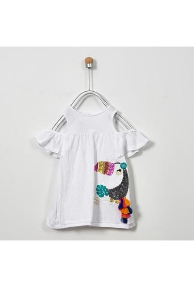 Panço Kız Çocuk Elbise 19126350100