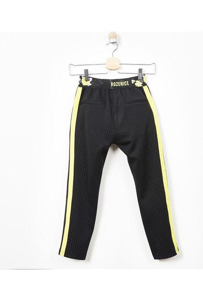 Panço Kız Çocuk Örme Pantolon 19221004100