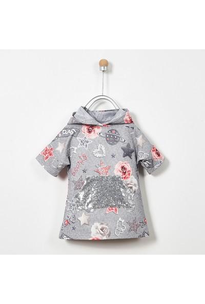 Panço Kız Çocuk Örme Elbise 19226054100