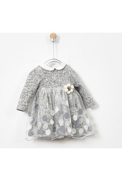 Panço Kız Çocuk Parti Elbisesi 19226081100