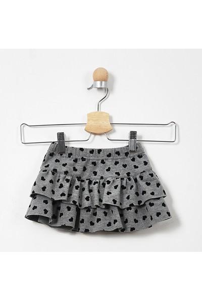 Panço Kız Bebek Örme Etek 19229095100