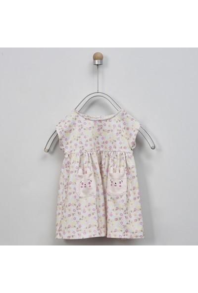 Panço Kız Bebek Örme Elbise 2011GB26023