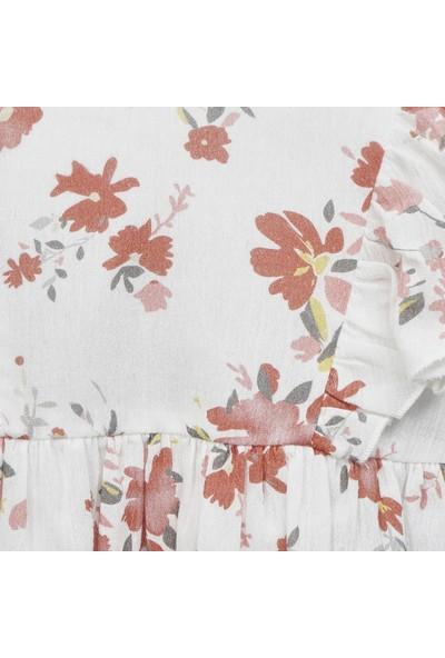 Panço Kız Bebek Günlük Elbise 2011GB26028
