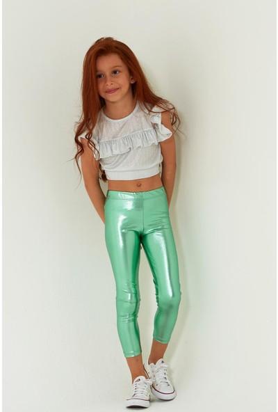 Colorinas Shiny Tayt Mint Yeşili