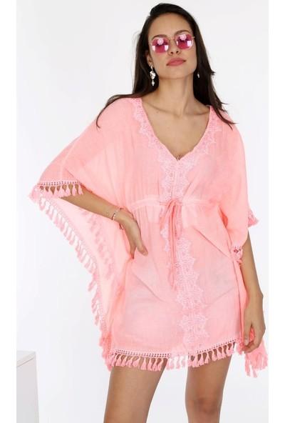 Uzman Tekstil Otantik Buldan Bezi&şile Bezi Saçaklı Pareo