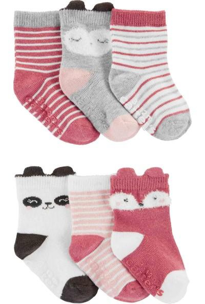 Carter's Kız Bebek 6'lı Çorap CR05369