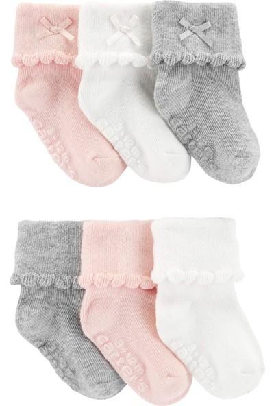 Carter's Kız Bebek 6'lı Çorap CR05657