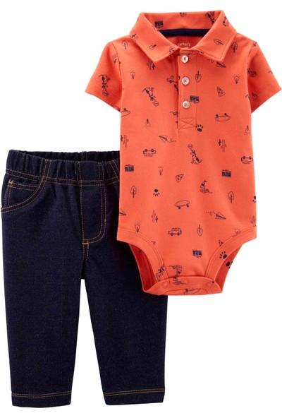 Carter's Erkek Bebek 2'li Set BPS 16510810