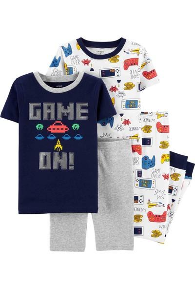 Carter's Erkek Çocuk 4'lü Pijama 3H499710