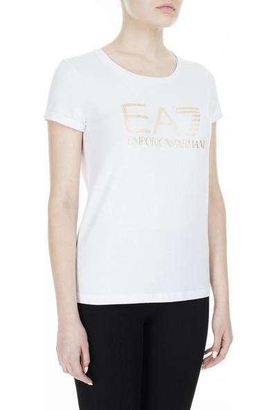 Ea7 T-Shirt Kadın T-Shirt S 6Gtt15 Tj12Z 1100