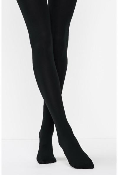 Penti Siyah Termal Külotlu Çorap