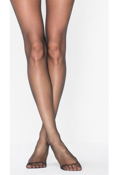 Penti Siyah Fit 15 Külotlu Çorap